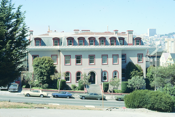 1000 Fulton Street, where the San Francisco Boys' Home was located (1980).