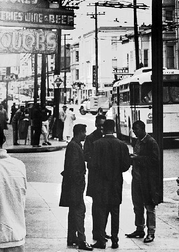 Fillmore Street, 1960s.