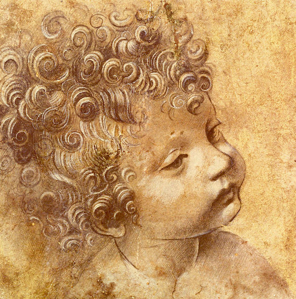 """Study of a Child,"" by Leonardo da Vinci."
