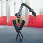 Dancing robot.