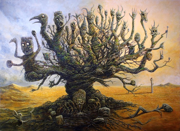 """""""Stylite's Dream,"""" by Frank Forrestall."""