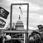 Noose at the Capitol on 6 January 2021