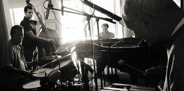 Terry Gibbs, 92 years young,jammin' at the Gibbs House.