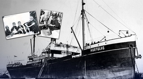 The S.S. Kurtuluş came to assuage the great Greek hunger.