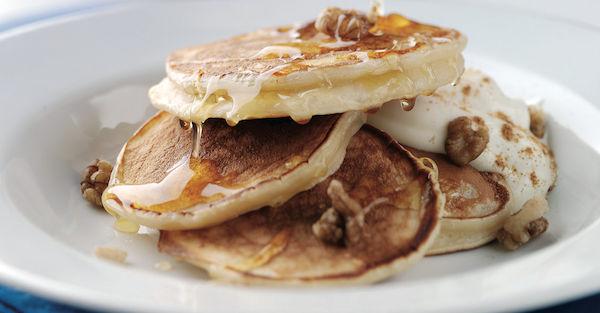 Tiganites (Greek Pancakes).