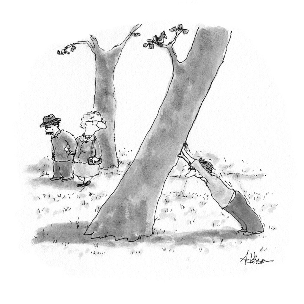 Addison-tree leaning
