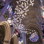 """""""Les Colombes,"""" by Michael Pendry. (Photo: Washington National Cathedral.)"""