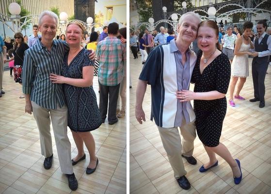 Ross and Deborah: twelve years of three-minute, Manhattan love affairs.