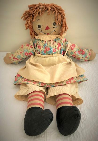 My original doll, Raggedy Ann.