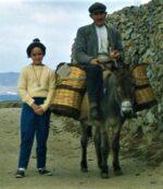 """Bebe"" on Mykonos, 1961. (Photo: Frederick Jackson Herring.)"