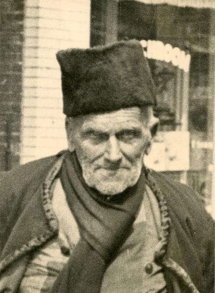 Elderly fisher in Marken, 1940 or '41.