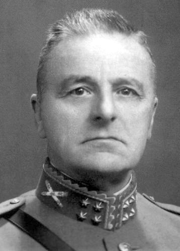 General Henri G. Winkelman, C-in-C of Dutch forces in the Netherlands, 1940.