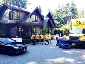 Moving companies West Vancouver