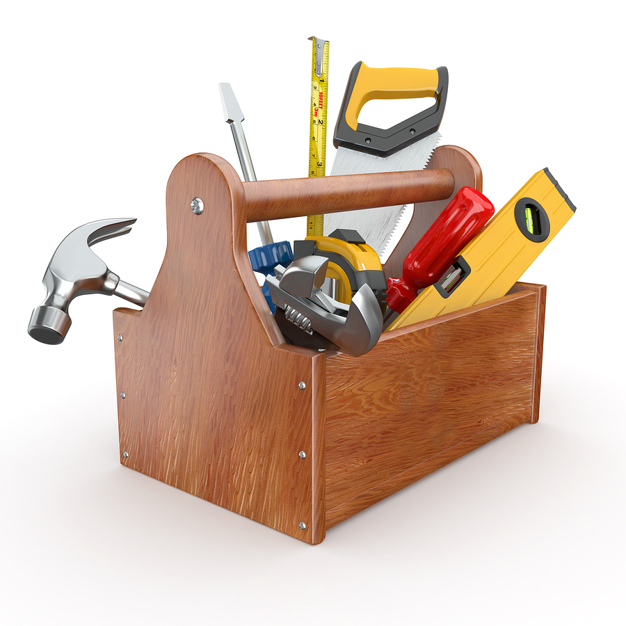 Toolbox & Cleaning Tools