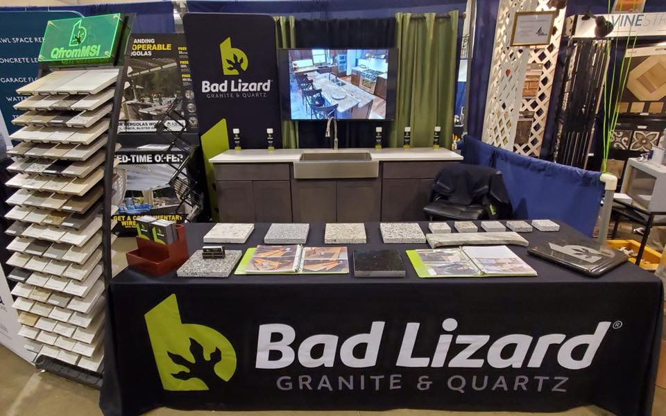 Home Show Bad Lizard setup
