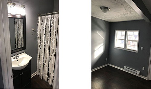 3rd ave completed bathroom and bedroom