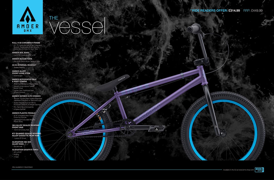 Amber BMX Print Ad & Bike Graphics