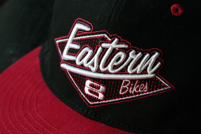 Eastern Bikes Snapback Hat Design