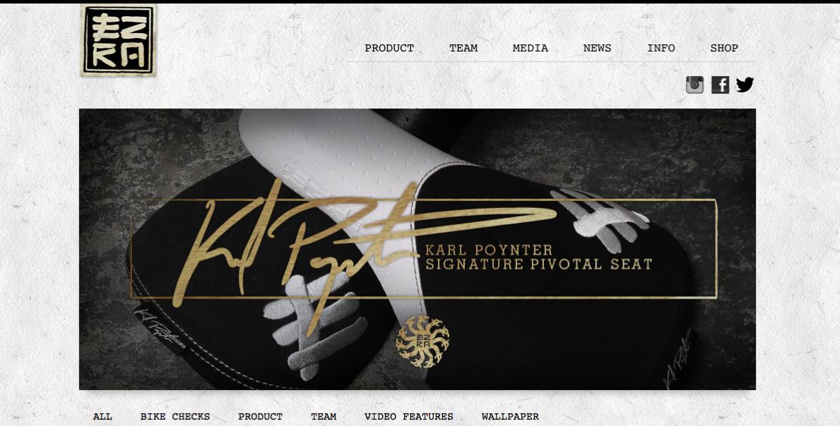 Ezra BMX Website