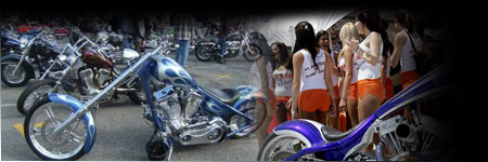 hooters motorcycle show