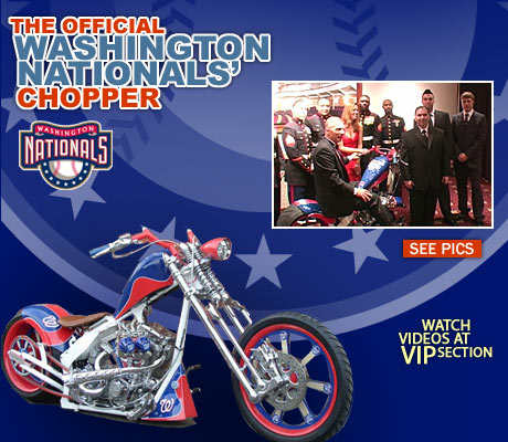 Washington Nationals Special Edition Chopper