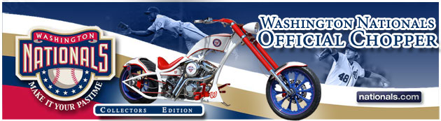 Official Washington Nationals Chopper