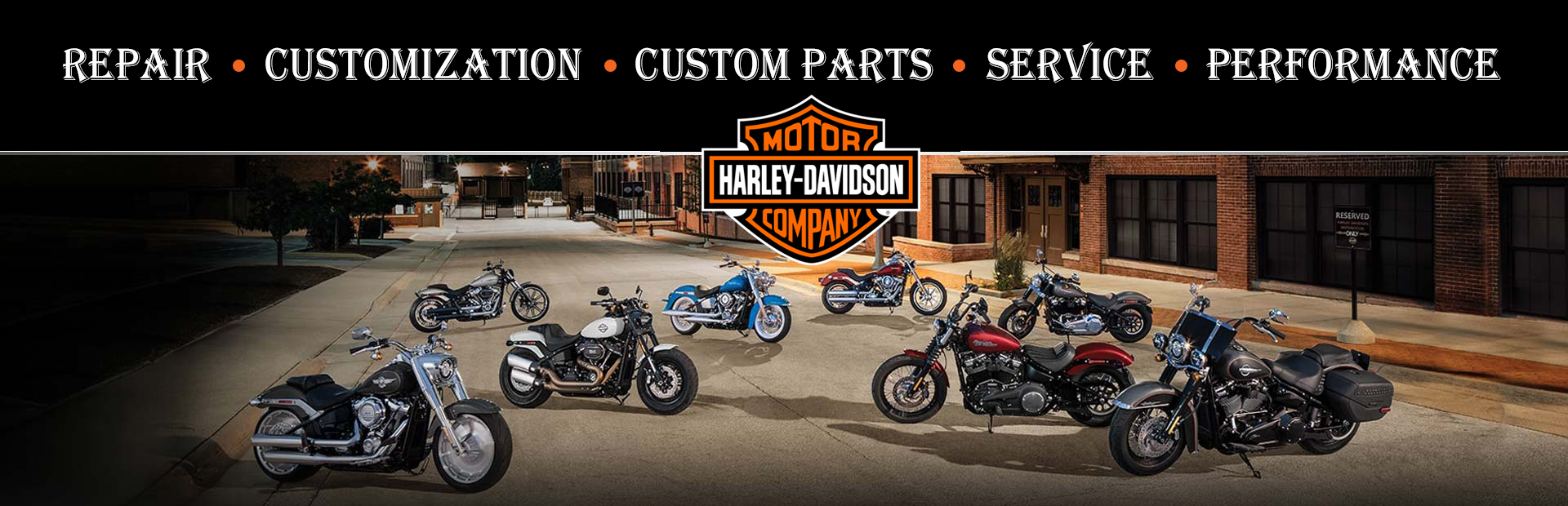 Harley Davidson Repair & Customization Shop