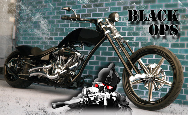Black Ops chopper
