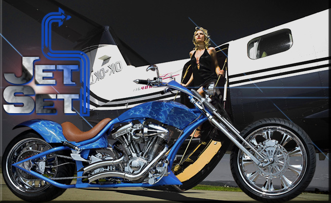 Custom Choppers design: Jet Set
