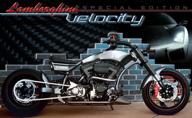 Custom choppers design model: Velocity