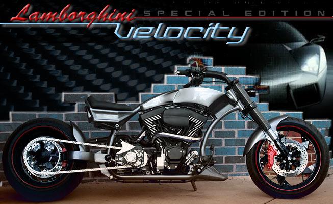 Custom choppers design model: Velocity