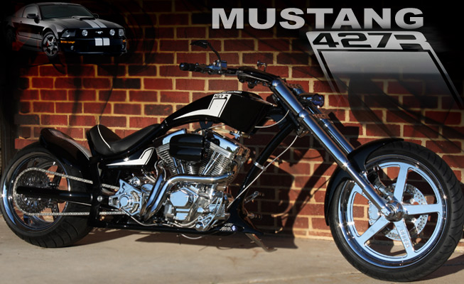 Custom Choppers design: Mustang 427R