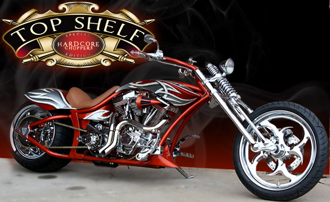 Custom Choppers design: Top Shelf