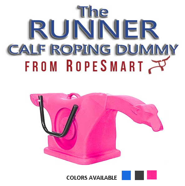 """PINK Calf Roping Dummy """"The RUNNER""""- The Smart ONE"""