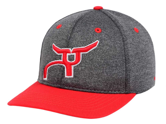 RS Red & Gray Heather Snapback