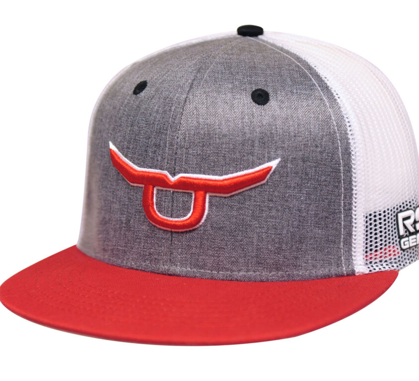 RS Classic Trucker Snapback With Red Steer