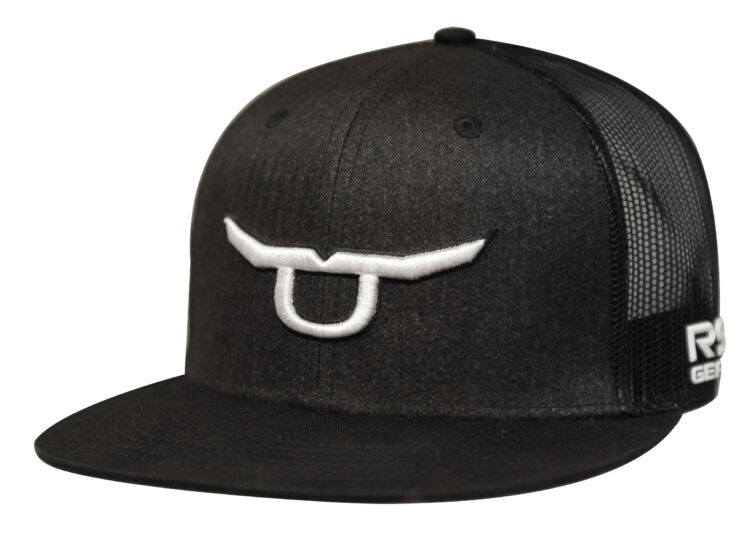 RS Classic Trucker Snapback With White Steer