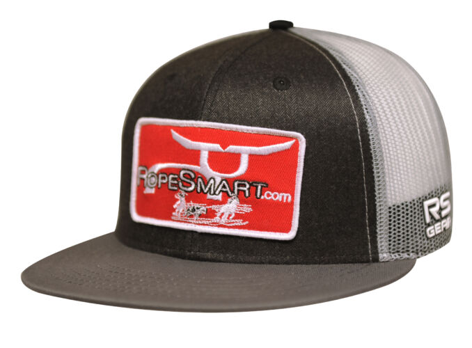 RS Classic Trucker Snapback With Red Cowboy Patch