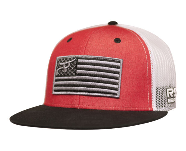 RS Trucker Snapback With American Flag