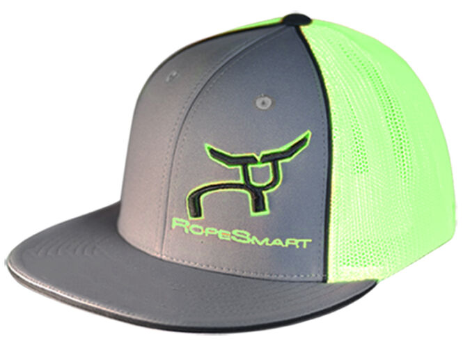 RS Classic Trucker Fitted Charcoal and Neon with Black Accent