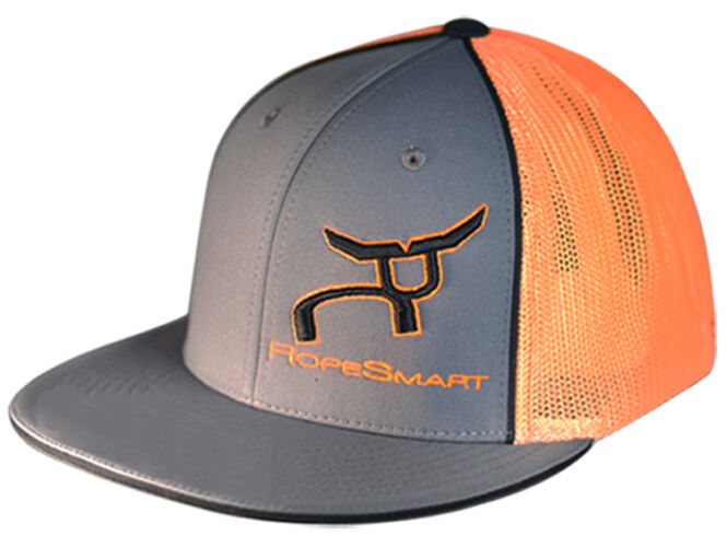 RS Charcoal, Orange, with Black Classic Trucker
