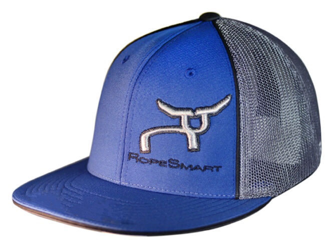 RS Royal Blue and Charcoal Classic Trucker