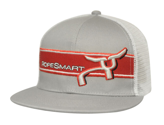 RS Grey Snapback with Red Bared Logo