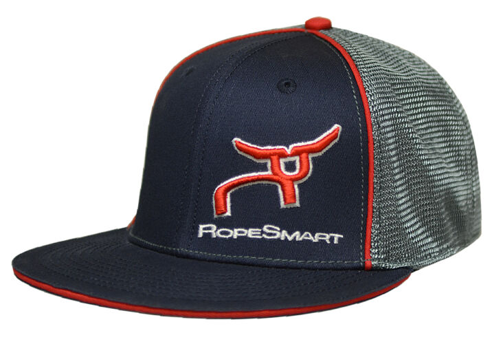 RS Navy & Gray Fitted Cap