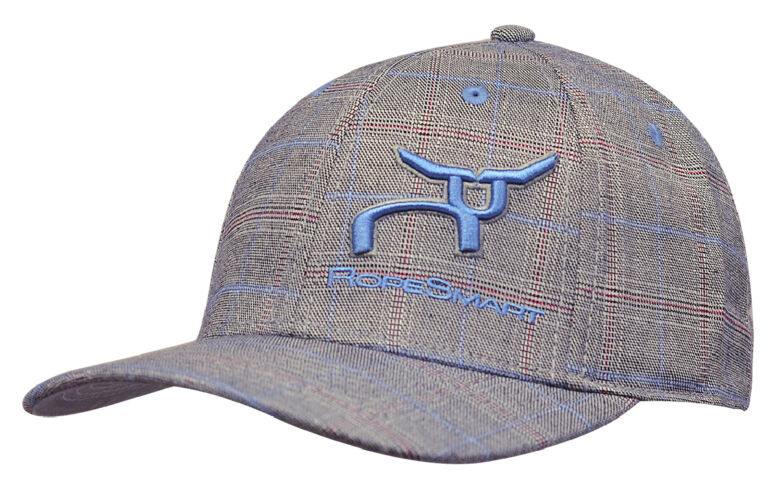 RS Gray Glen Plaid Fitted Cap