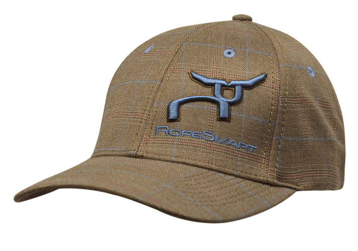 RS Brown Glen Plaid Fitted Cap