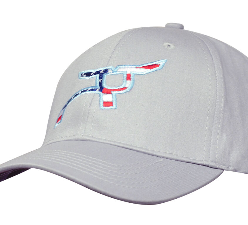 RS Gray All-American Fitted Cap