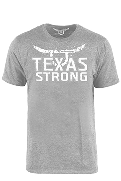 "RS ""Texas Strong"" Gray T-Shirt"