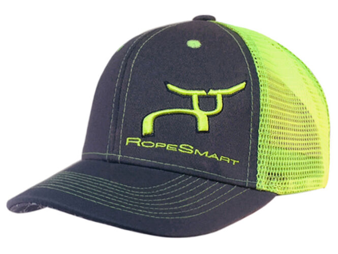 RS Retro Trucker Charcoal and Neon Snapback