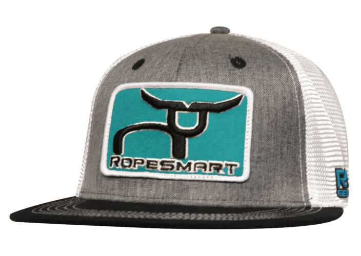 RS Fitted Teal Patch Cap